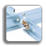 Подвесные конструкции к плитам и кассетам