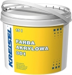 001 FARBA AKRYLOWA Фасадная акриловая краска