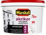 Marshall Краска Akrikor Фасадная