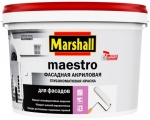 Marshall Краска Maestro Фасадная Акриловая
