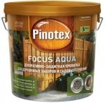 Pinotex Focus Aqua (Пропитка д/деревян.заборов и строений)