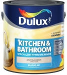 Краска Dulux Kitchen & Bathroom д/кухни и ванной