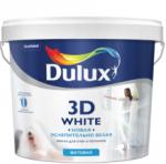 Краска Dulux 3D White Матовая д/стен и потолков