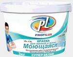 Краска Profilux PL-13L Супербелая моющаяся