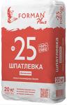 Шпатлевка гипсо-полимерная финишная белая премиальная №25