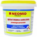 Шпатлевка-замазка NEOMID для заделки глубоких выбоин и трещин
