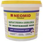 Шпатлевка-замазка NEOMID для заделки швов по монтаж. пене