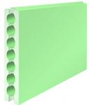 Пазогребневые плиты пустотелые гидрофобизированные 80мм
